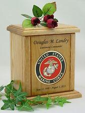 Military Urns - NEW Marine Corps Urn - USA Made