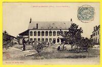 cpa Auvergne 03 - AINAY le CHÂTEAU (Allier) COLONIE FAMILIALE Animée Hôpital