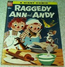 Raggedy Ann & Andy 1 Giant, FN/VF (7.0) 1955 (100 pages)