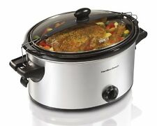 Hamilton Beach 33262A Stay or Go Slow Cooker, 6-Quart , New, Free Shipping