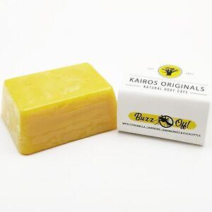 Lavender, citronella, lemongrass & eucalyptus Handmade Soap - Essential oils