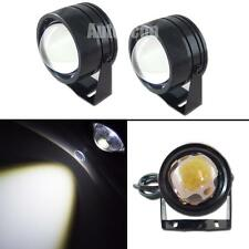 "2pcs High Power HID White 2.0"" COB LED Spot Lights Extra Fog DRL Lamps For Cars"