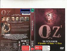 OZ-1997/03-TV Series USA-The Fith Season-[3 Disc]-DVD