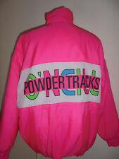 rare 80s vintage O`NEILL Nylon Jacke glanz neon pink oldschool 80er ski jacket L