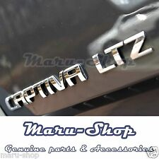 "Tailgate ""CAPTIVA LTZ"" Lettering Logo Badge Emblem for 06+ Chevrolet Captiva"