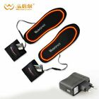 Winter Ski insole Rechargeable Heated Insoles Foot Warming Insoles Thermal