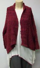 RIMINI,CARDIGAN, THEIR SIZE 7,WOOL BLEND MADE IN PORTUGAL.THEIR COLOR MERMAID.