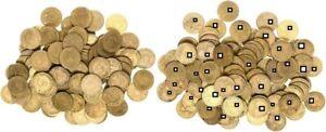 3.Reich Lot 100 Münzen zu 5 Pfennig J.363 1937-1939  sehr schön-vorzüglich (3)