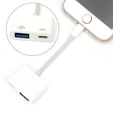 Apple Lightning to USB 3 Camera Keyboard Adapter Cable OTG iPhone iPad iOS11