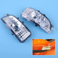 Fit for Volvo S40 V50 C30 S60 Front Wing Mirror Turn Signal Indicator Light Lens