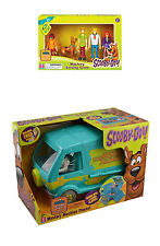Scooby-Doo NEW LOT Mystery Machine Van Playset & the GANG Figure set NIB