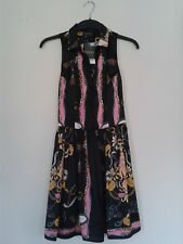Topshop silky shirt dress with bridal horse pattern, never worn (tag still on)