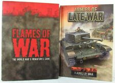 Flames of War 3rd Edition Core Rulebook Set Plus Armies of Late-War