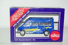 SIKU 1930 MERCEDES BENZ SPRINTER BUS AIRPORT SHUTTLE MINT BOXED