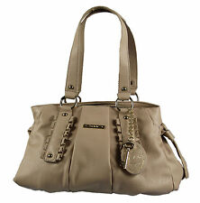 Ooh la la Beige Cream Womens Shoulder Hobo Tote Shopper Ladies Hand Bag
