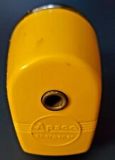 Vintage Yellow Black Pencil Sharpener Apsco Mid Century Berol Products
