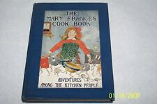 The Mary Frances Cook Book Jane Eayre Fryer USA 1912 hardcover English Cookbook