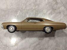 AMT 1967 Chevrolet Impala SS Hardtop Promo 427-Granada Gold Met., Near Mint