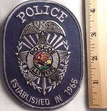 ROSCOE ILLINOIS POLICE PATCH (HIGHWAY PATROL, SHERIFF, EMS)