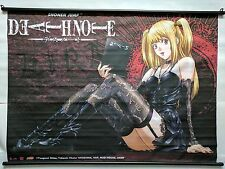 "VTG Shonen Jump Death Note Misa Amane Wall Scroll Fabric 42"" x 31"" Large Anime"