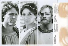 NICHOLAS CLAY JULIAN GLOVER JANE LAPOTAIRE ALEXANDER THE GREAT 1981 PBS TV PHOTO