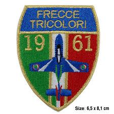 Toppa frecce tricolori aeronautica militare italiana patch ricamate termoadesiva