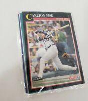 Score '91 Baseball Trading Cards Carlton Fisk Mark Langston