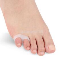 1pair Silicone Little Toe Valgus Corrector Separator Straightener Protector