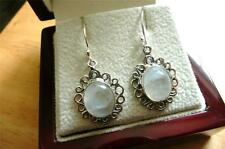 Moonstone Silver Earring Indian Jewellery