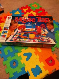 Mouse Trap MB Board Game 1996 Vintage Long Box Edition Complete