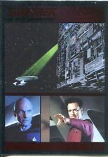 Star Trek TNG The Complete Series 1 Parallel Foil Base Card #41