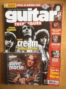 Guitar Techniques magazine and CD, April 1999