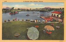 Postcard In Encanto Park Phoenix Arizona AZ