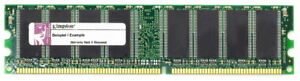 512MB Kit (2x256MB) Kingston DDR1 PC3200U 400MHz KFJ-E600/512 Memory