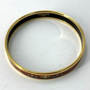 Hermes enamel bracelet bangle cloisonne DF153-256