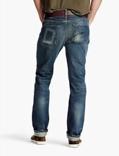 Lucky Brand Legend Selvedge Men's 1 Authentic Skinny Jeans MADE IN USA NEW 32x32