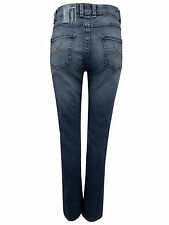 Straight Leg Faded Jeans Plus Size for Women