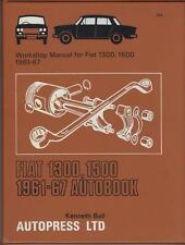 FIAT 1300 & 1500 AUTOBOOKS OWNERS WORKSHOP MANUAL 1961-1967