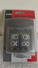 Soshine USB Li-ion SC-S9 AA AAA Universal Battery Charger
