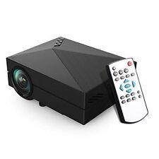 LELEC GM60 Mini LED Projector LCD 1000 Lumens Multi-media Portable Projector
