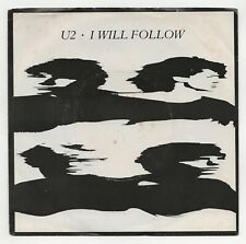 U2 ~ I Will Follow ~ ALTERNATIVE ROCK ~ VG+ ~ PROMO