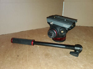 MANFROTTO MVH502AH PRO VIDEO HEAD WITH FLAT BASE AND QR PLATE