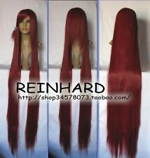 Dark Red cosplay party Straight Wig 150cm  H276