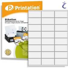 Printation Frankier-etiketten 70 X 36 Mm weiß - 3x8 70x36 Internetmarke...