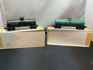 Mantua Cities Service 2549 Single Dome Tank Car & AT&SF 95007 HO Scale Lot