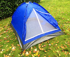 2 MAN PERSON FESTIVAL CAMPING TENT with CARRY BAG hiking backpacking garden