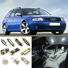 20×White LED Interior SMD Light Kit Error Free for Audi A6 S6 C5 1995-2004