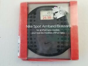 in pack NIKE sport armband for ipod nano black gray smashed package, new