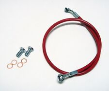 STREAMLINE REAR BRAKE LINES LINE KIT ATV RED YAMAHA RAPTOR 700 06 07 08 09 10