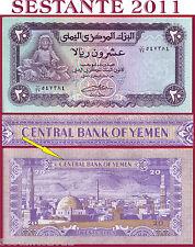 YEMEN ARAB REPUBLIC -   20 RIALS nd 1985  Sign. 8  -  P 19c   -  FDS / UNC